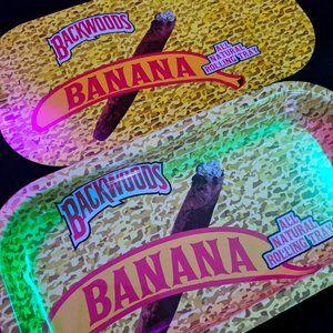 Exotic Banana Backwoods Rolling Tray Magnet Lid